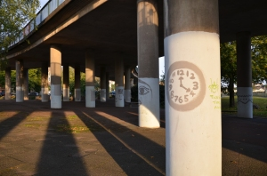 Painted Pillars