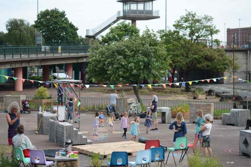 pocket park launch